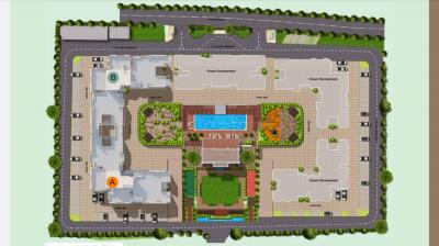Gallery Cover Image of 1380 Sq.ft 3 BHK Apartment for buy in Supreme Estia Phase I, Baner for 9800000