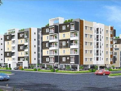 Gallery Cover Image of 1550 Sq.ft 3 BHK Apartment for buy in Kompally for 6500000