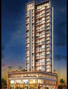 Gallery Cover Image of 1245 Sq.ft 2 BHK Apartment for buy in Varsha Balaji Exotica, Kopar Khairane for 15100000