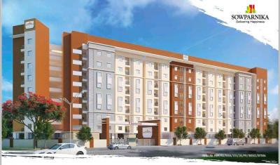 Gallery Cover Image of 547 Sq.ft 1 BHK Apartment for buy in Sowparnika Pranathi, Kumbalgodu for 2406800