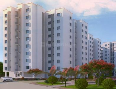 Gallery Cover Image of 596 Sq.ft 1 BHK Apartment for buy in Kogilu for 2980000
