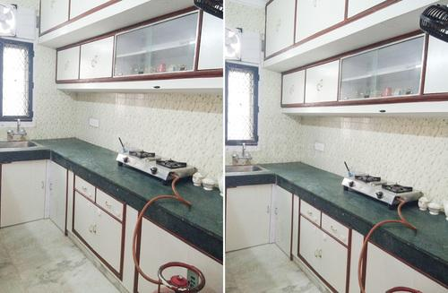 Kitchen Image of Kumudi Apartment Flat No-703 in Manglapuri