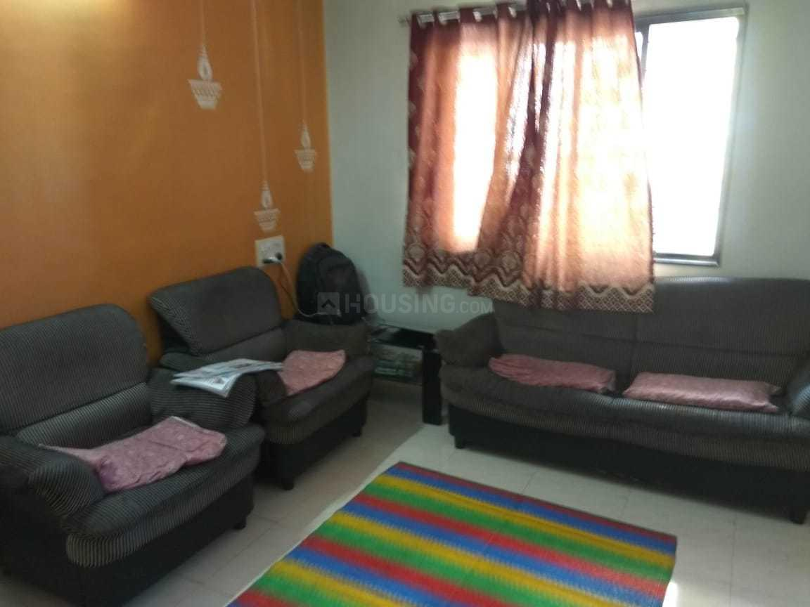 Living Room Image of 580 Sq.ft 1 BHK Apartment for rent in Kamothe for 11000
