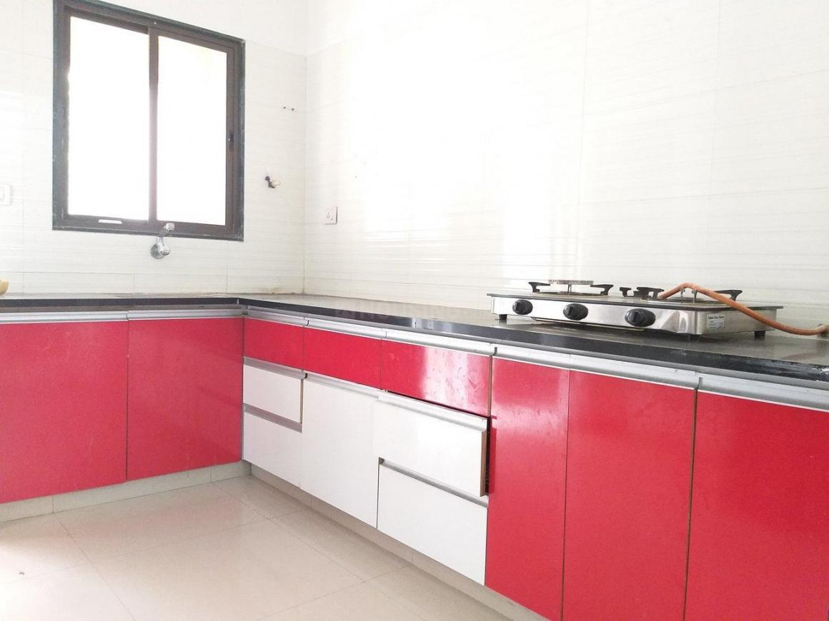 Kitchen Image of 2266 Sq.ft 4 BHK Apartment for rent in Bodakdev for 69000