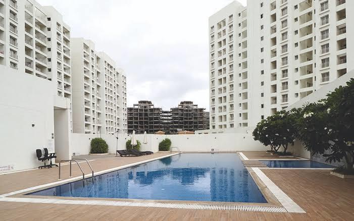 Swimming Pool Image of 680 Sq.ft 1 BHK Apartment for rent in Mohammed Wadi for 11000