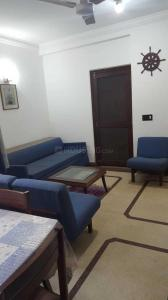 Gallery Cover Image of 1500 Sq.ft 2 BHK Independent Floor for rent in Orbit Floors CR Park, Chittaranjan Park for 50000