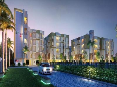 Gallery Cover Image of 1166 Sq.ft 3 BHK Apartment for buy in Riya Manbhari Ananya, Rajpur Sonarpur for 3206500