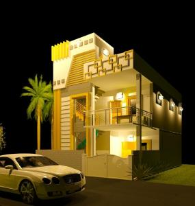 Gallery Cover Image of 1328 Sq.ft 3 BHK Villa for buy in Urapakkam for 5900000