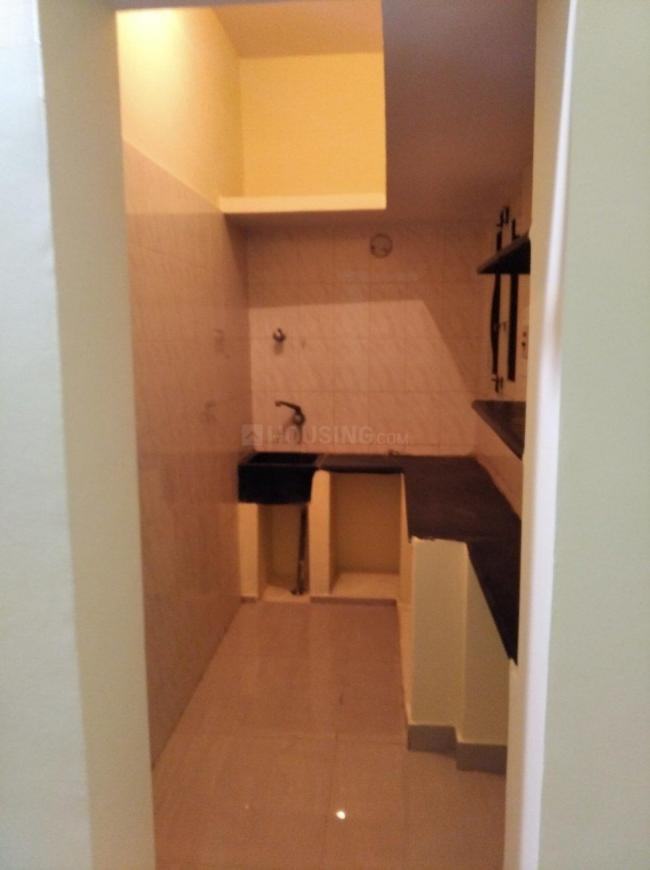Kitchen Image of 480 Sq.ft 1 BHK Independent House for rent in Bellandur for 13000
