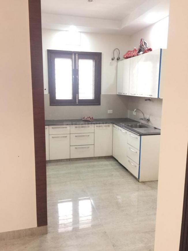 Kitchen Image of 600 Sq.ft 3 BHK Independent Floor for rent in Sector 29 for 25000