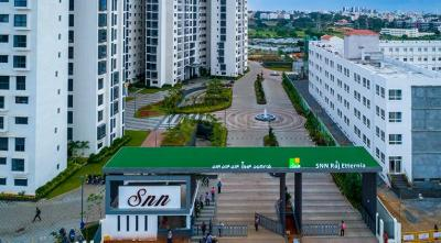 Gallery Cover Image of 1750 Sq.ft 3 BHK Apartment for buy in SNN Raj Etternia, Parappana Agrahara for 9800000