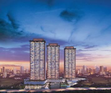 Gallery Cover Image of 715 Sq.ft 2 BHK Apartment for buy in Godrej Exquisite, Thane West for 12700000