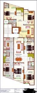 Gallery Cover Image of 900 Sq.ft 3 BHK Apartment for buy in Jamia Nagar for 5000000