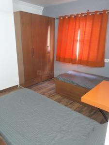 Bedroom Image of Orange Grey Rooms in Ranjeet Nagar