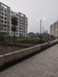Gallery Cover Image of 706 Sq.ft 1 BHK Apartment for buy in Giriraj MK Thakur Complex, Shilphata for 3900000