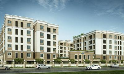 Gallery Cover Image of 1347 Sq.ft 3 BHK Independent Floor for buy in Sholinganallur for 6200000