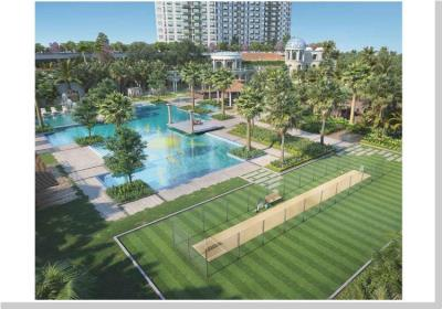 Gallery Cover Image of 800 Sq.ft 2 BHK Apartment for buy in T Bhimjyani The Verraton, Thane West for 14400000