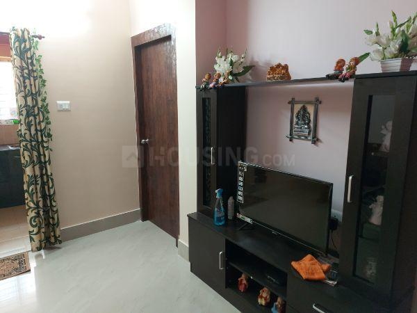 Living Room Image of 900 Sq.ft 1 BHK Apartment for rent in Sonarpur for 6500