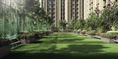 Garden Area Image of 512 Sq.ft 2 BHK Apartment for buy in Rustomjee Global City, Virar West for 4000000
