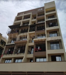Gallery Cover Image of 670 Sq.ft 1 BHK Apartment for rent in Chaitanya Galaxy, Karanjade for 7500