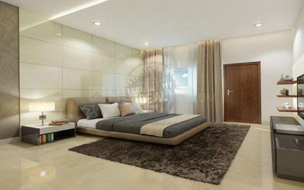 Bedroom Image of 714 Sq.ft 1 BHK Apartment for buy in Kudlu Gate for 4700000