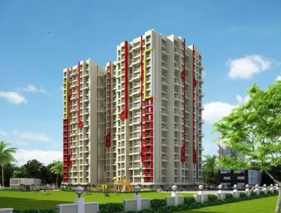 Gallery Cover Image of 650 Sq.ft 1 BHK Apartment for buy in Raj Vaibhav NX, Dombivli West for 4810800