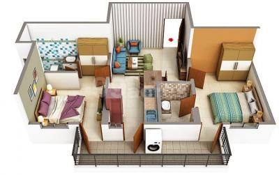 Gallery Cover Image of 2000 Sq.ft 3 BHK Apartment for buy in ROF Atulyas, Sector 93 for 2100000