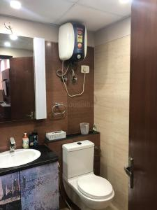 Bathroom Image of 1250 Sq.ft 1 BHK Independent Floor for rent in Sector 50 for 15000