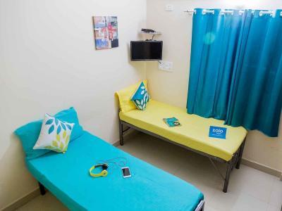 सेक्टर 100 में ज़ोलो इसपेस के बेडरूम की तस्वीर
