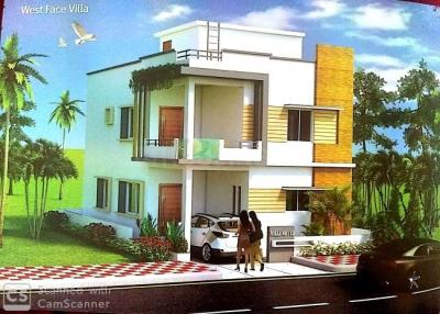 Gallery Cover Image of 1874 Sq.ft 3 BHK Villa for buy in Bhavnas GLC Cribs, Bachupally for 9400000