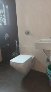 Bathroom Image of Certified PG Service Apartment Available In Thane Kasarvadavali (9082510518) Ynh in Kasarvadavali, Thane West