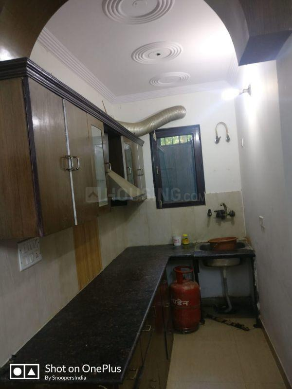 Kitchen Image of 800 Sq.ft 2 BHK Independent Floor for rent in Sector 19 Dwarka for 16000
