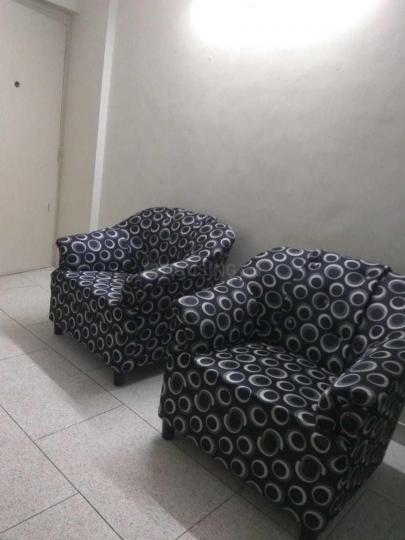मरीन लाइंस में शिवम पीजी के लिविंग रूम की तस्वीर