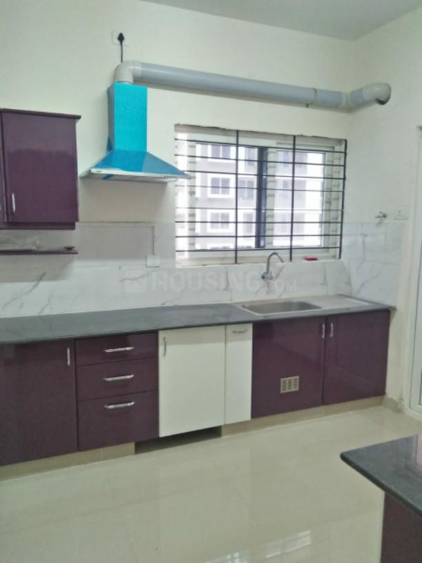 Kitchen Image of 1500 Sq.ft 3 BHK Apartment for rent in Mambakkam for 18000