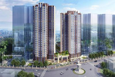 Gallery Cover Image of 1269 Sq.ft 3 BHK Apartment for buy in Thane West for 18000000
