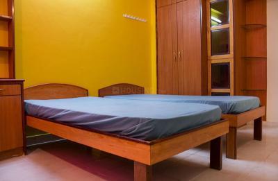 Bedroom Image of F 504 Aishwarya Lakeview Residency in Kaggadasapura