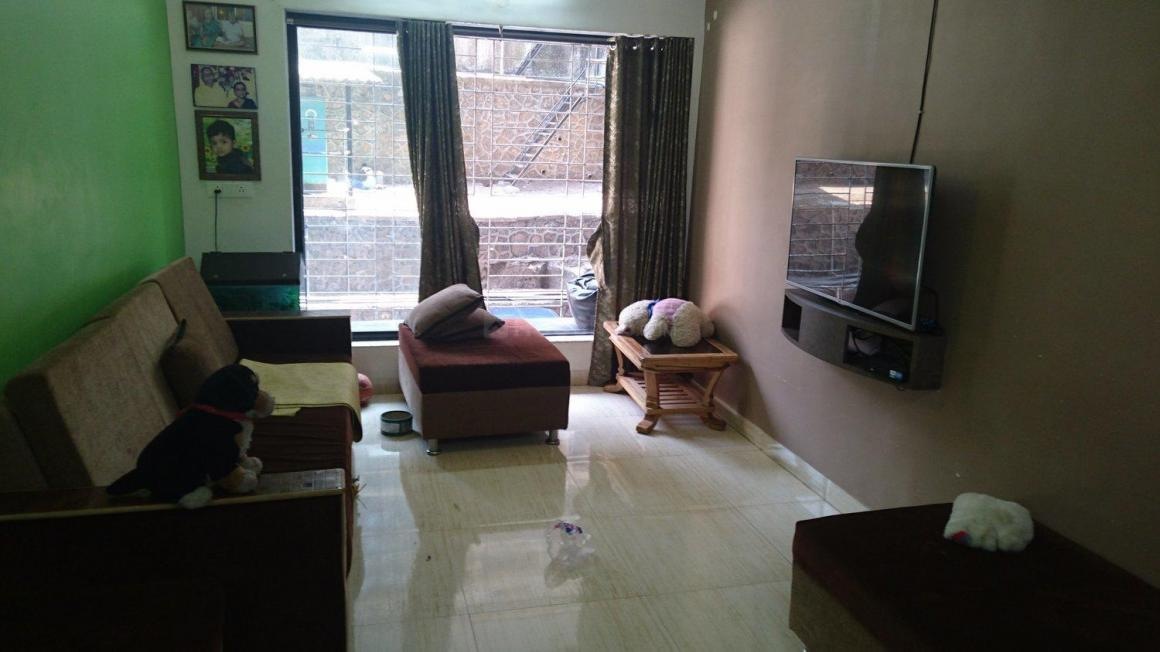 Living Room Image of 1280 Sq.ft 3 BHK Apartment for buy in Goregaon East for 12500000
