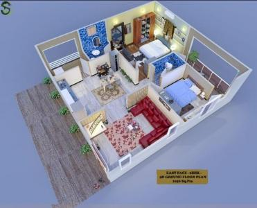 Gallery Cover Image of 1510 Sq.ft 3 BHK Apartment for buy in Sunshine Gateway, Gandi Maisamma for 5700000