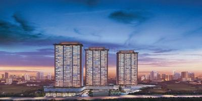 Gallery Cover Image of 850 Sq.ft 2 BHK Apartment for buy in Godrej Exquisite, Thane West for 12600000
