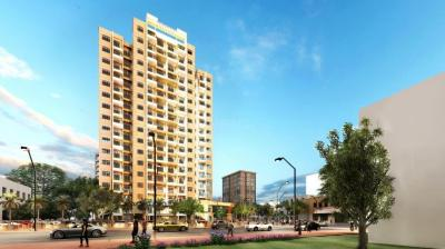 Gallery Cover Image of 660 Sq.ft 1 BHK Apartment for buy in Mali Pinnacle, Kalyan East for 3000000