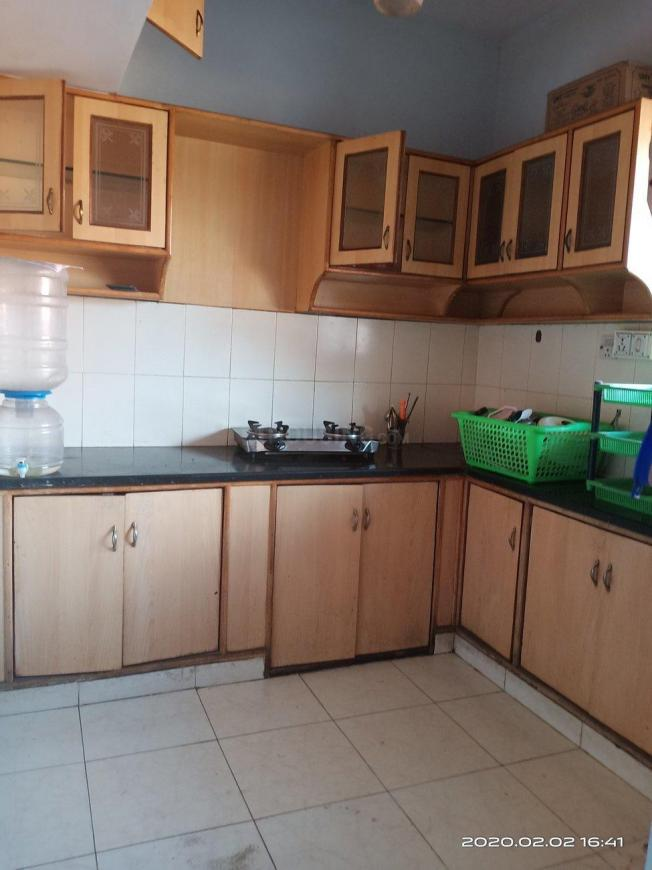 Kitchen Image of 1085 Sq.ft 2 BHK Apartment for rent in Vibhutipura for 20000