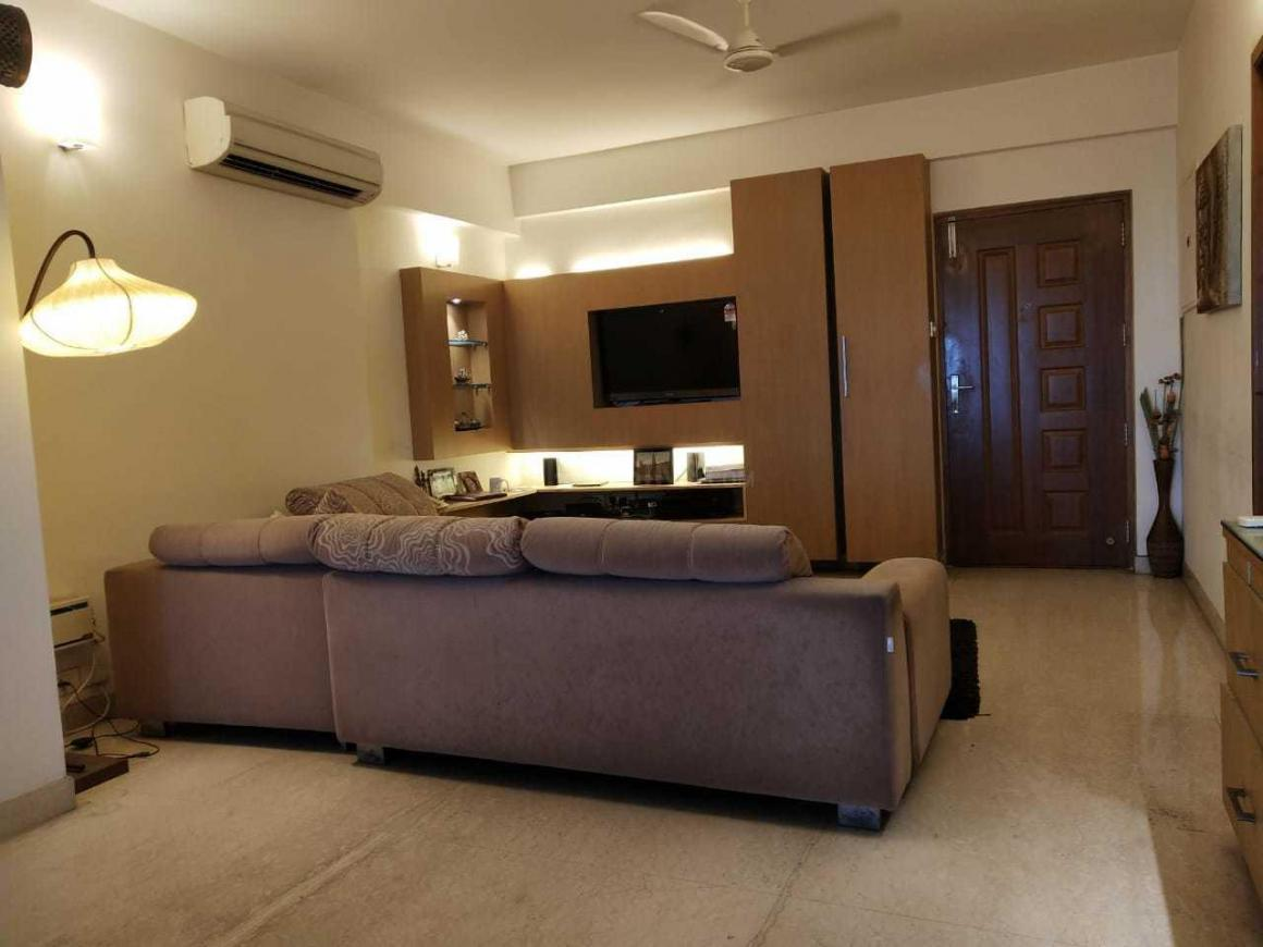 Living Room Image of 1850 Sq.ft 3 BHK Apartment for rent in Thoraipakkam for 50000