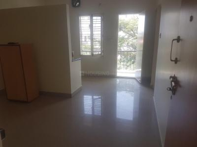 Gallery Cover Image of 565 Sq.ft 1 BHK Independent Floor for rent in Murugeshpalya for 16000