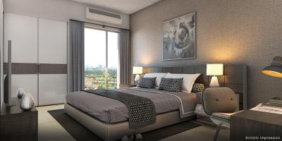 Gallery Cover Image of 1238 Sq.ft 2 BHK Apartment for buy in Okas Residency, Golf City for 4457000