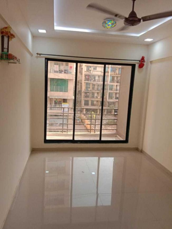 Living Room Image of 690 Sq.ft 1 BHK Apartment for rent in Karanjade for 7000