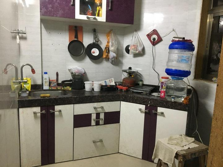 Kitchen Image of 630 Sq.ft 1 BHK Apartment for rent in Rabale for 21000