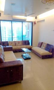 Gallery Cover Image of 1650 Sq.ft 3 BHK Apartment for rent in Gajra Bhoomi Heights, Kharghar for 50000