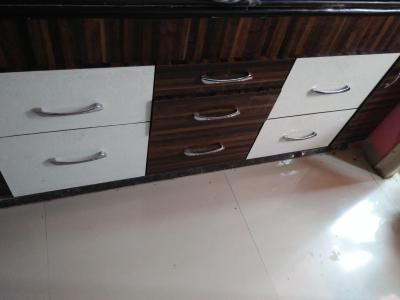 Kitchen Image of 848 Sq.ft 2 BHK Apartment for buy in Pooja Estate, Durga Nagar for 4500000
