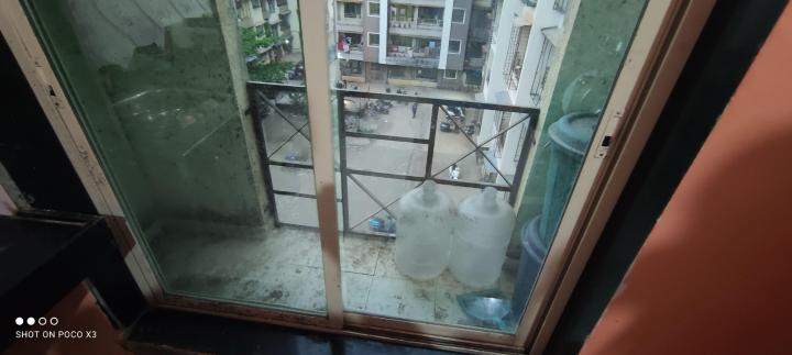 Balcony Image of 575 Sq.ft 1 BHK Apartment for buy in Raj Palace Housing, Nalasopara West for 2550000