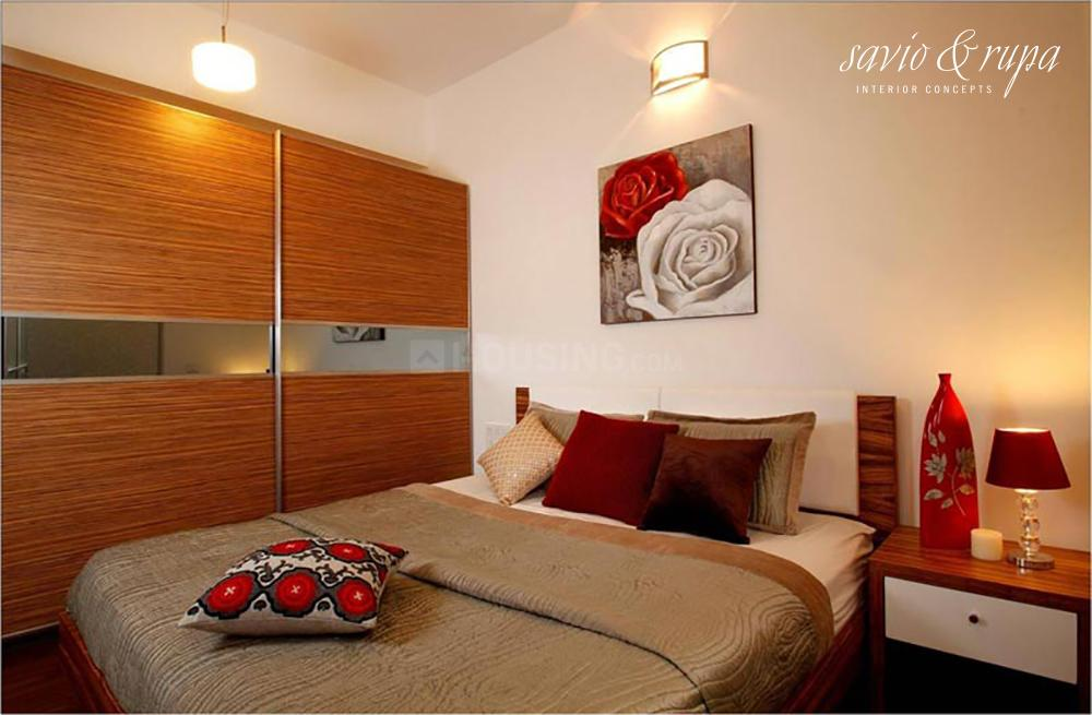 Bedroom Image of 858 Sq.ft 2 BHK Villa for buy in Whitefield for 4516000
